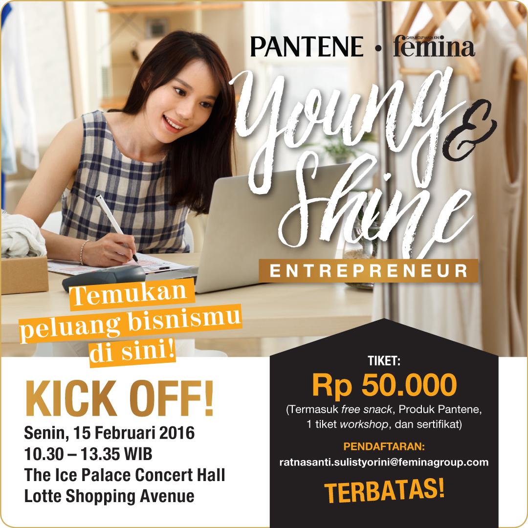 Pantene Femina Young & Shine Entrepreneur